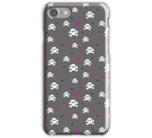 skulls n hearts iPhone Case/Skin