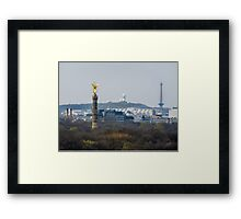 Berlin- View from the Parliament Framed Print