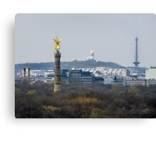 Berlin- View from the Parliament Canvas Print