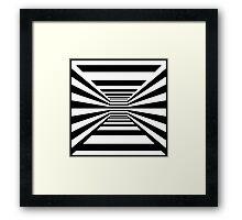 Op Art Zoom Room Framed Print