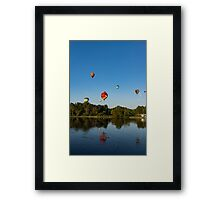 Hot Air Balloon Rides Framed Print