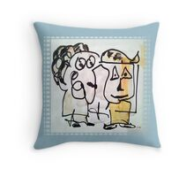 Graphics by Irene Rindje Throw Pillow