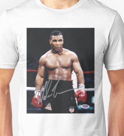 Mike Tyson on the ring Unisex T-Shirt