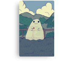Fernando the Ghost Canvas Print