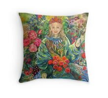 Mother Earth. Throw Pillow