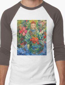 Mother Earth. Men's Baseball ¾ T-Shirt