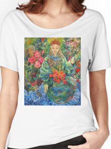 Mother Earth. Women's Relaxed Fit T-Shirt