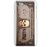Skull Dollar - Consume iPhone Case/Skin
