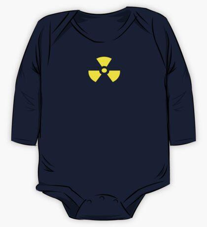 Radioactive T-Shirt Sticker Duvet One Piece - Long Sleeve