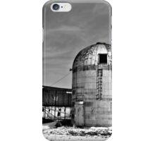 Obsolete Farm BW iPhone Case/Skin