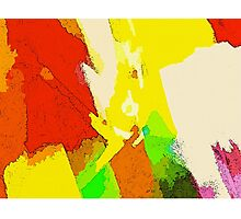 Joy Of Colors. Abstract live colors design Photographic Print