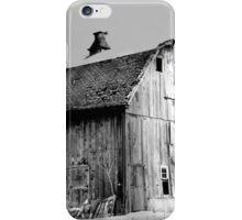 Jersey Avenue Barn BW iPhone Case/Skin