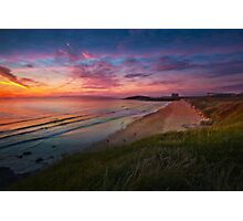 Beach Sunset, Fistral Beach Photographic Print