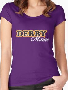 Derry, Maine - It Women's Fitted Scoop T-Shirt