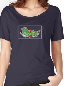 A bathing crocodile Women's Relaxed Fit T-Shirt