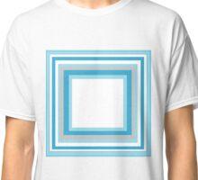 blue squares Classic T-Shirt