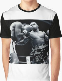 Mike Tyson fight Graphic T-Shirt
