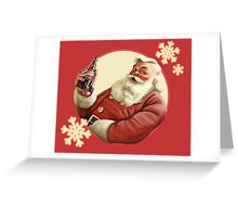 Nuka Cola Santa Greeting Card