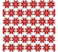 Snowflake pattern Photographic Print