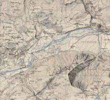 Civil War Maps 1595 Sierre Sticker