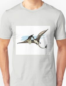 Illustration of a Pteranodon dinosaur. Unisex T-Shirt