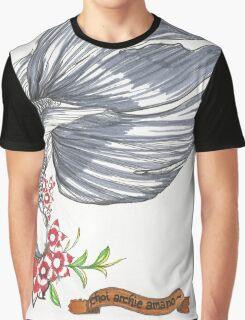 Black Goldfish Graphic T-Shirt