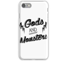 Gods and Monsters 3 iPhone Case/Skin