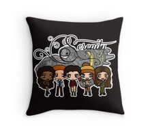 Firefly - Serenity and Crew Throw Pillow