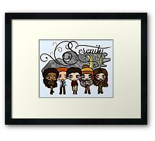 Firefly - Serenity and Crew Framed Print