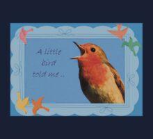 A little Bird Told Me Baby Tee