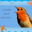 A little Bird Told Me by taiche