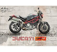Ducati S4RS Photographic Print