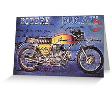 Ducati GT 750 Greeting Card