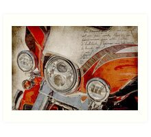Harley Davidson 2014 CVO Limited FLHTKSE Art Print