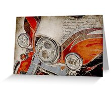 Harley Davidson 2014 CVO Limited FLHTKSE Greeting Card