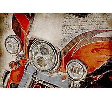 Harley Davidson 2014 CVO Limited FLHTKSE Photographic Print