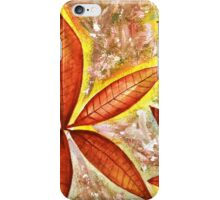 Wishing you a Merry Christmas with Poinsettias iPhone Case/Skin