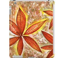 Wishing you a Merry Christmas with Poinsettias iPad Case/Skin