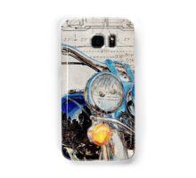 Harley Davidson FLSTN Softail Deluxe Samsung Galaxy Case/Skin