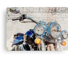 Harley Davidson FLSTN Softail Deluxe Metal Print