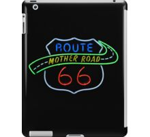 Route 66 Mother Road Neon Sign iPad Case/Skin