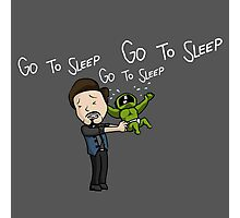 Go to Sleep! Photographic Print