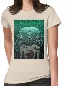 Demonic Alien Entity Womens Fitted T-Shirt
