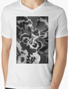 Maui Orchid Mens V-Neck T-Shirt