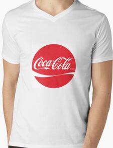 cola, coca, cocacola Mens V-Neck T-Shirt
