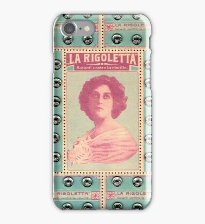 La Rigoletta : Vintage Snaps Card iPhone Case/Skin