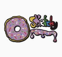 sketchy donut Baby Tee