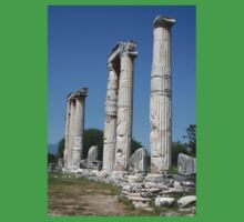 The Temple of Aphrodite -  Ruins of Aphrodisias Turkey One Piece - Short Sleeve