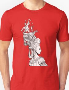 Girl With Ship T-Shirt