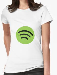 Spotify Womens Fitted T-Shirt